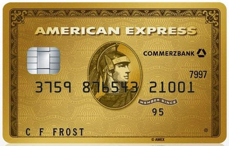175€ mit American Express Gold (AmEx)