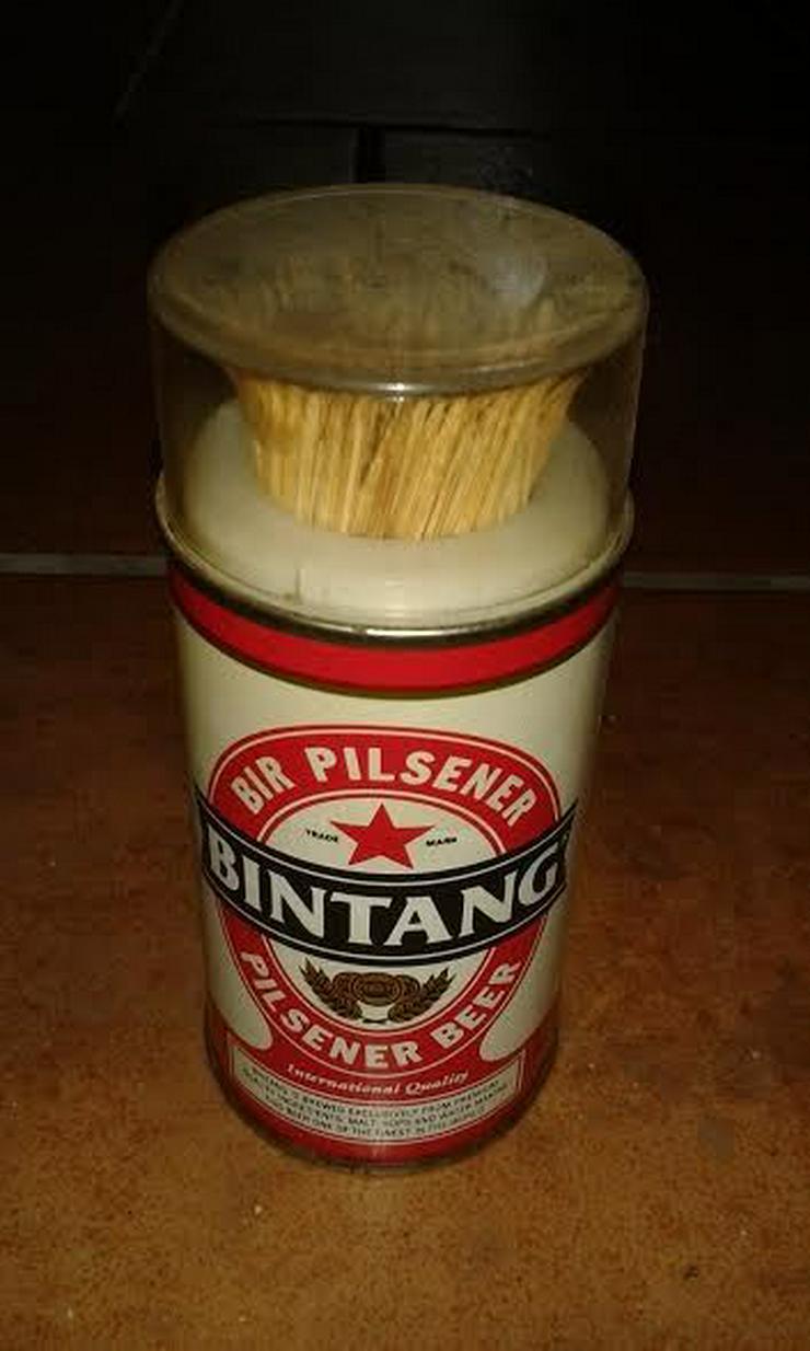 Bild 2: Zahnstocherhalter von Bintang beer indonesia