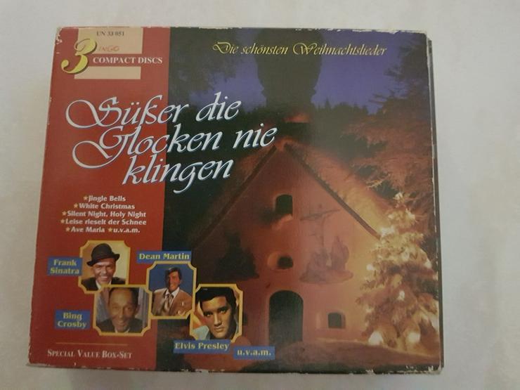 Weihnacht?s CD 3 Stück Sampler