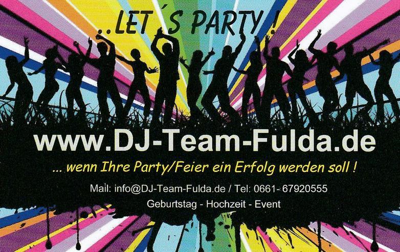 DJ für Hochzeit, Event, Geburtstag oder Party