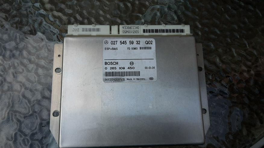 Mercedes 027 545 59 32 Q02 BAS/ESP Steuergerät - Bild 1