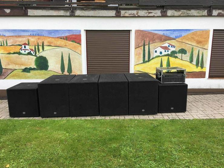 Dynacord XA38 Lautsprechersystem F12 F18 XA2600 - Bild 1