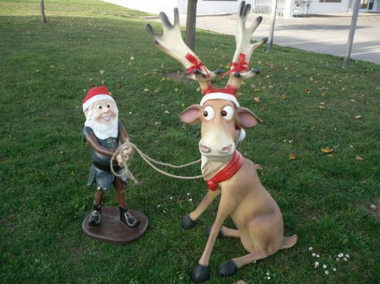 Rudi mit Elfe  aus Naturkautschuk