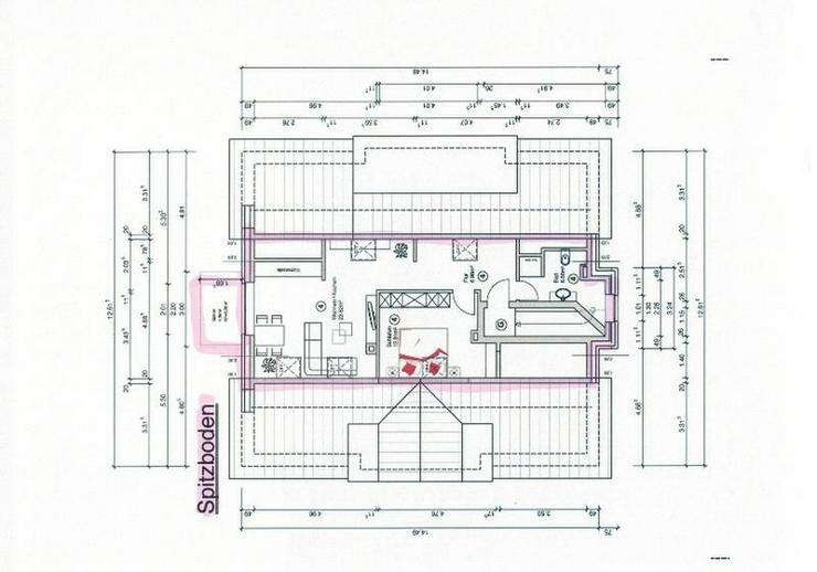 Bild 2: ****Attraktive 2-Zimmer Neubau-DG-Wohnung mit Balkon**** - von Schlapp Immobilien