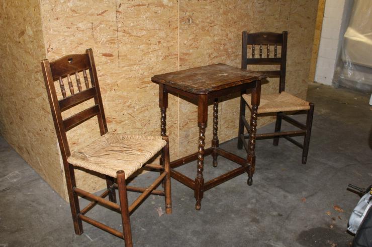 kleinm bel garnitur 2 teilig dunkles holz in hamburg rahlstedt auf. Black Bedroom Furniture Sets. Home Design Ideas