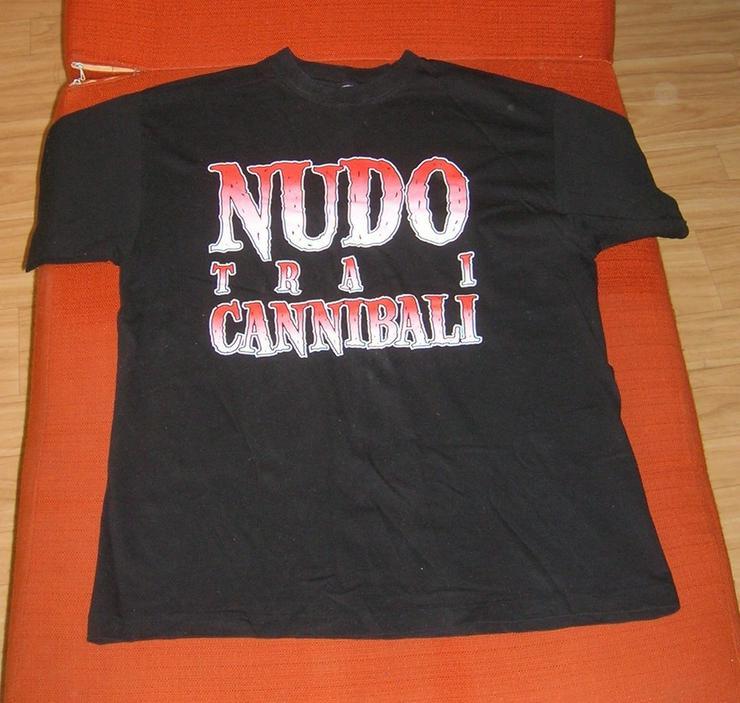T-Shirt NUDO T R A I CANNIBALI - Größen 52-54 / L - Bild 1
