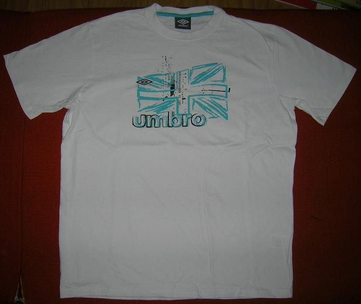 Herren Shirt UMBRO Weiß Größe M