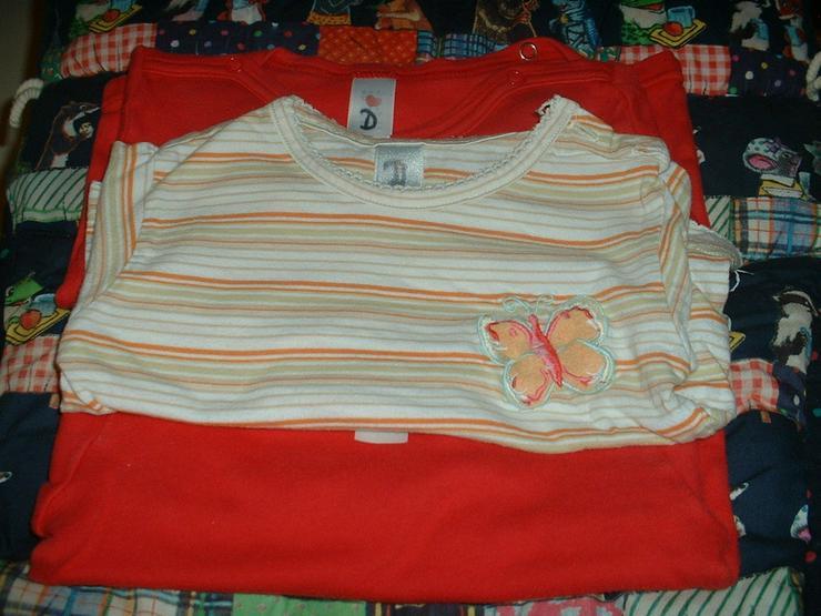 3 Baby-Shirts im Set, Gr. 68