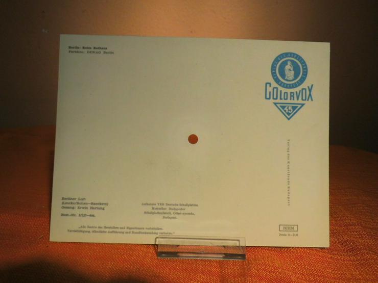 Bild 3: Colorvox Berlin, Rotes Rathaus Tonpostkarte /