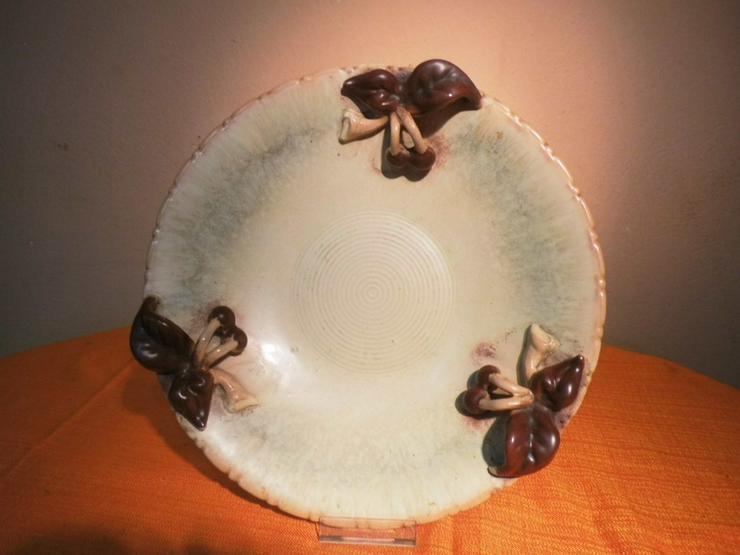 Große Obstschale aus Keramik, Motiv Kirschen / - Weitere - Bild 1