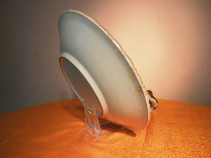 Bild 6: Große Obstschale aus Keramik, Motiv Kirschen /