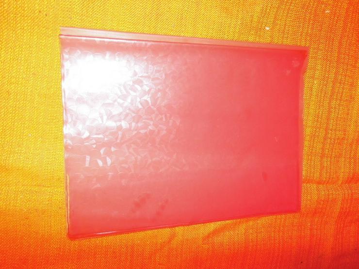 Bild 4: 10 PVC Heftumschläge um 1970 aus der ehemalige