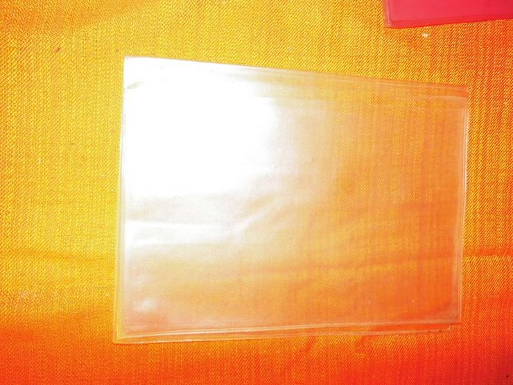 Bild 5: 10 PVC Heftumschläge um 1970 aus der ehemalige