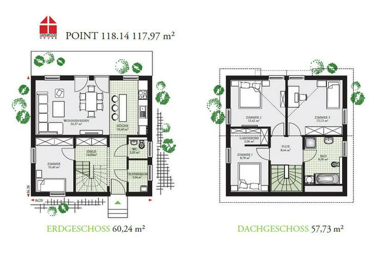 Bild 2: Eigenheim für Sie allein Bezugsfertiges Einfamilienhaus