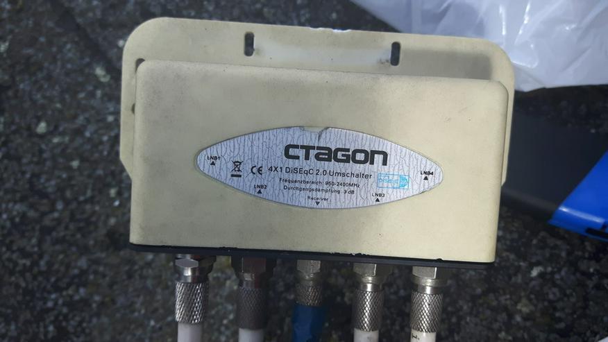Ctagon DiSEq C 2.0 Schalter mit schutzhülle