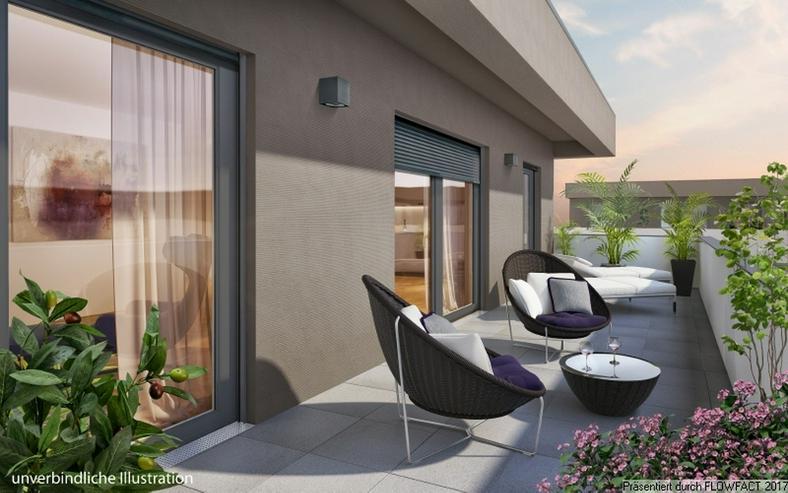 Sang ONE - Exklusives Penthouse mit 2 Dachterrassen in Rosbach v.d. Höhe - Wohnung kaufen - Bild 1