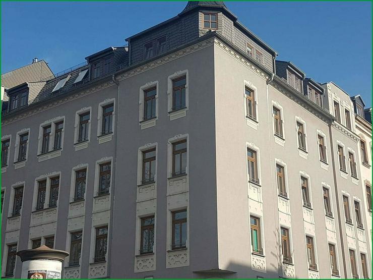 Bild 2: Chemnitz - eine neu renovierte 2 Zimmerwohnung in einem herrschaftlichen Stadthaus