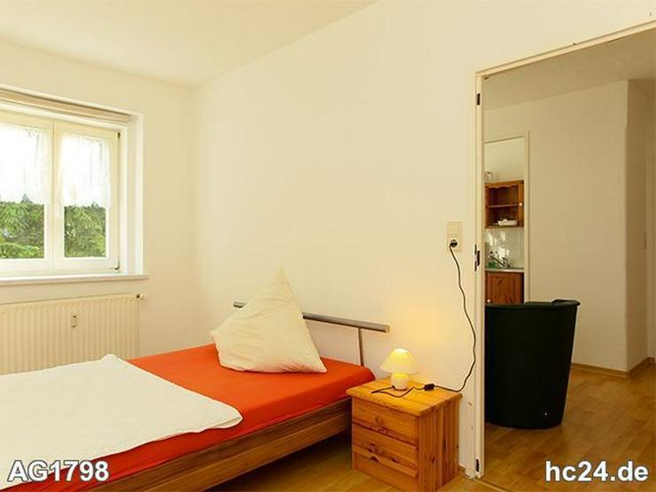 * nahe A 14 + möbliertes appartement Leipzig + grüne und ruhige lage + laminat