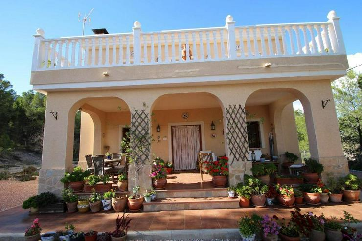 Bild 2: Villa mit Blick über Weinfelder