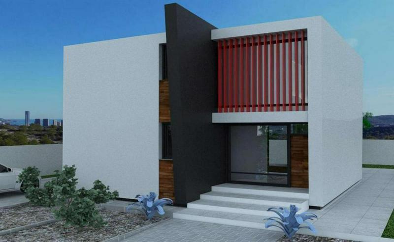 Bild 2: Neubau bei Benidorm