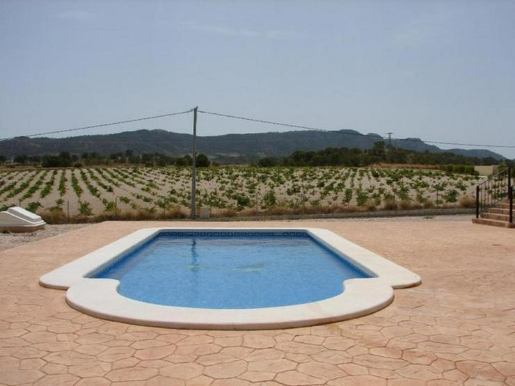 Bild 3: Musterhaus mit Pool