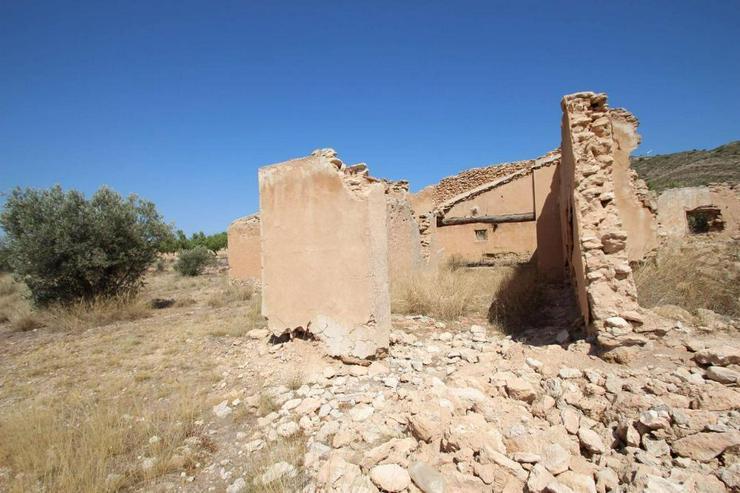 Bild 4: Bauland mit Ruine