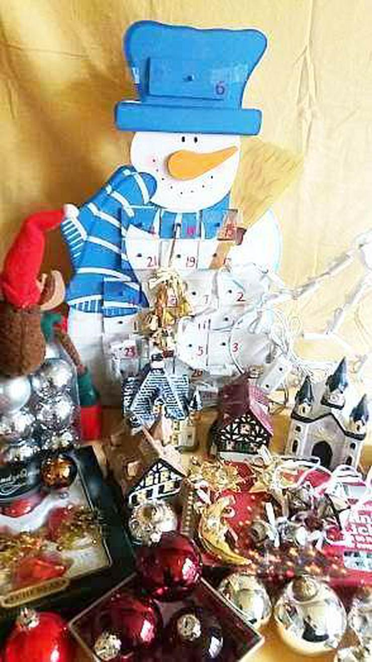 Bild 3: Weihnachtlich- Advents  VOR Dekoration