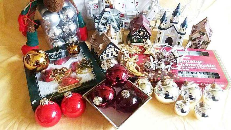 Bild 2: Weihnachtlich- Advents  VOR Dekoration