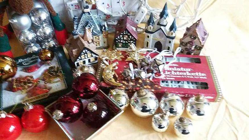 Bild 4: Weihnachtlich- Advents  VOR Dekoration
