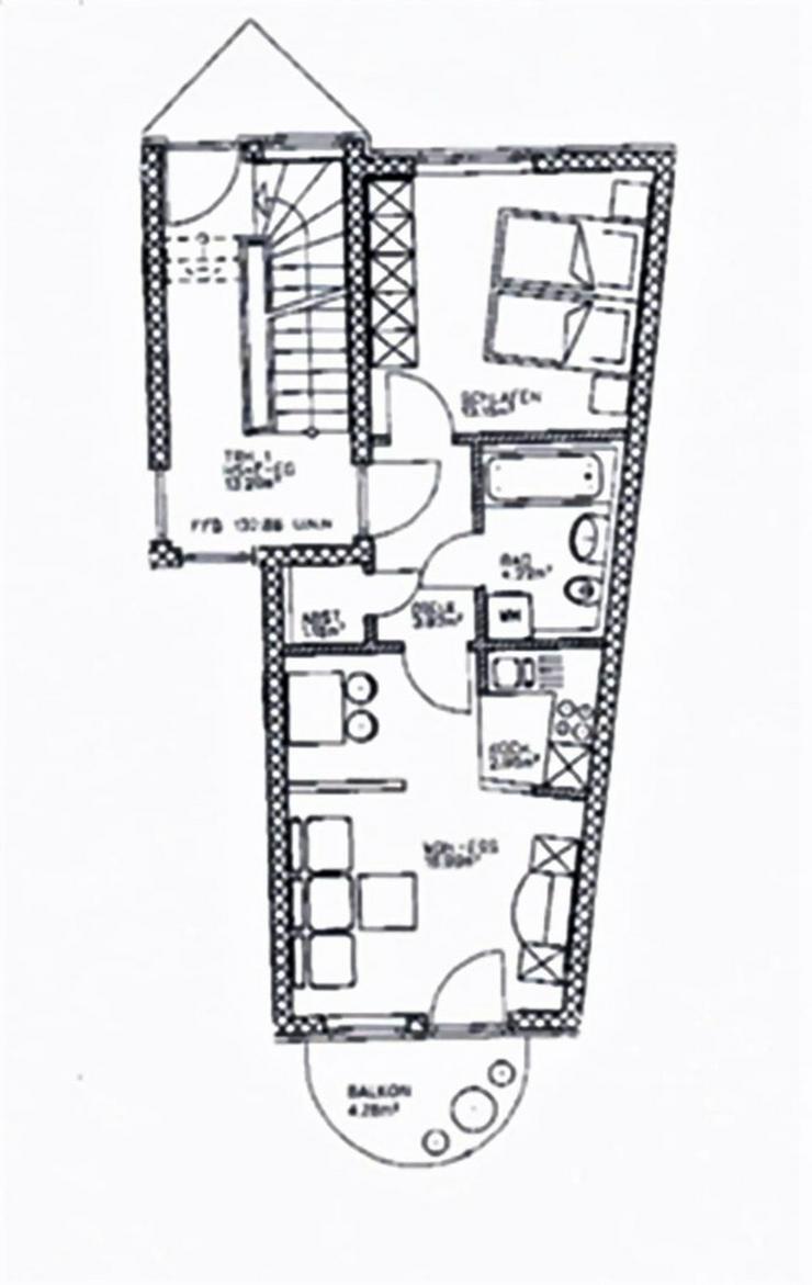 Bild 12: KAPITALANLAGE - 2 Zimmerwohnung mit Blick in die Natur - Wohnpark Engelsdorf