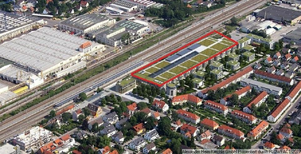 Bild 6: Einkaufzentrum - Neubau-Mall München-Nord-West: noch wenige Flächen ab 34-437qm verfügb...