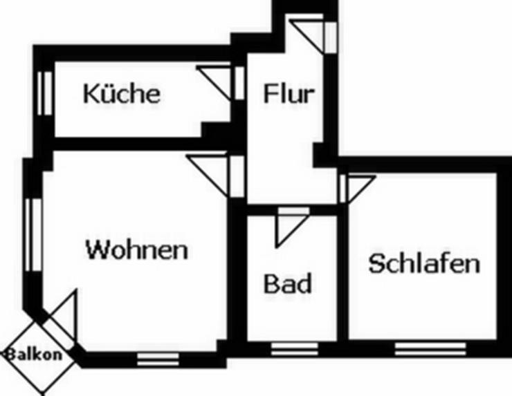 Bild 2: 2-Raum-Wohnung mit Balkon!