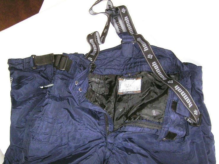 Bild 2: Ski - thermo - Latzhose gr. L dunkelblau