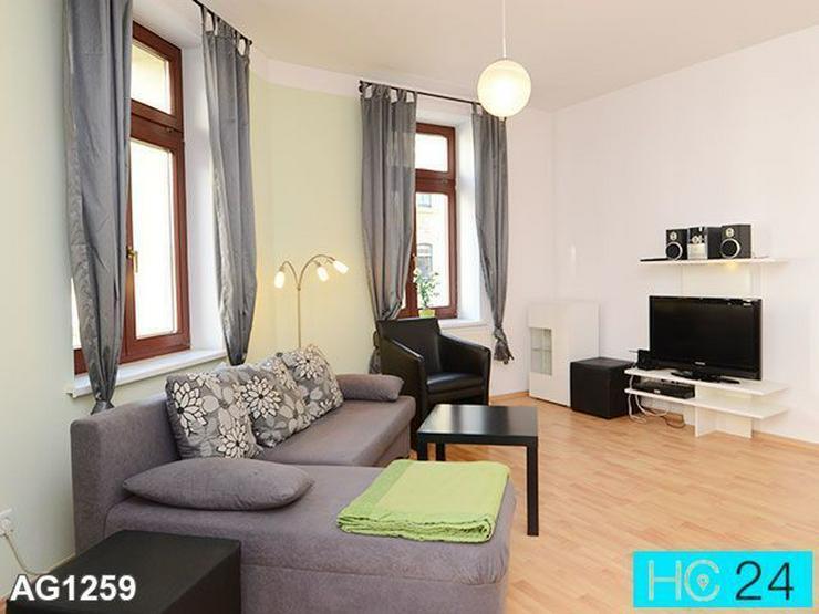 * Toll möblierte Wohnung in Leipzig + GOHLIS-SÜD + Internet