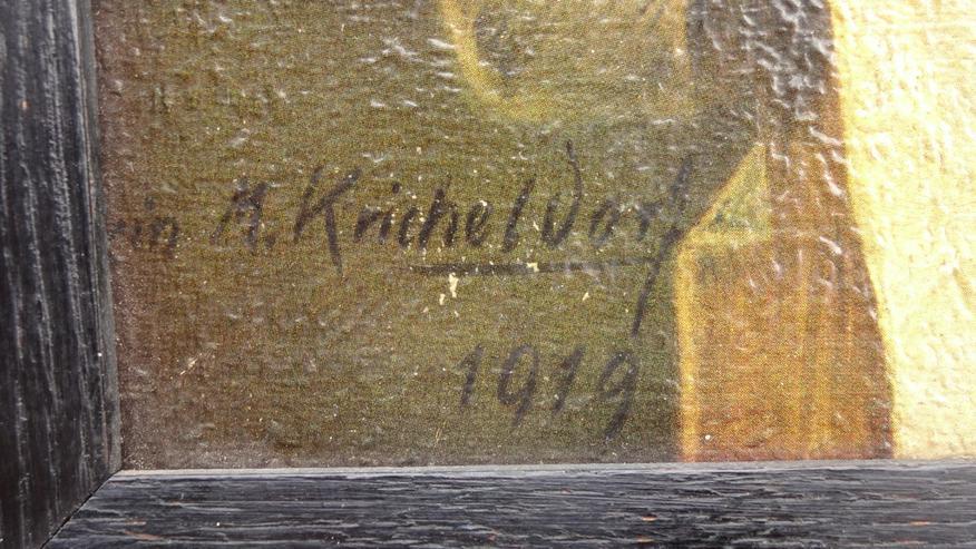 Bild 5: Stilleben von Erwin M. Kricheldorf gerahmt