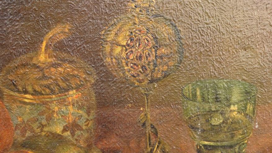 Bild 6: Stilleben von Erwin M. Kricheldorf gerahmt
