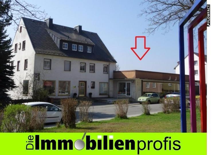 Große Ladenfläche für Verkauf, Lager oder sonstiges Gewerbe in Hof OT Krötenbruck zu v... - Gewerbeimmobilie mieten - Bild 1