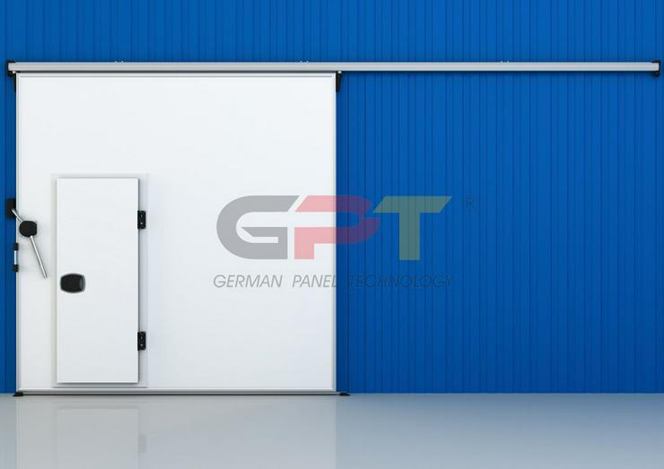 Bild 6: Kühlzelle 2,60 x 1,50 x 2,20m NK Kühlhaus