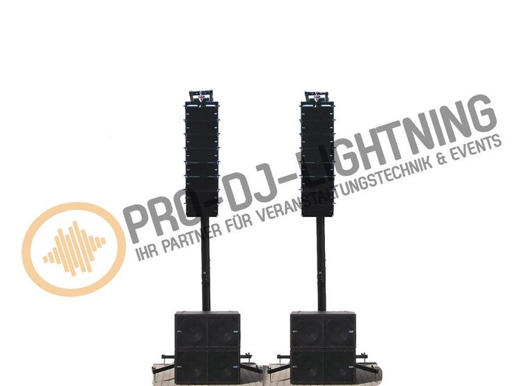 mieten dj pa party anlage musikanlage subwoofer in. Black Bedroom Furniture Sets. Home Design Ideas