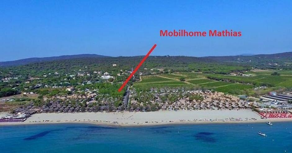 Mobilheimen in Sud Frankreich direkt an Meer