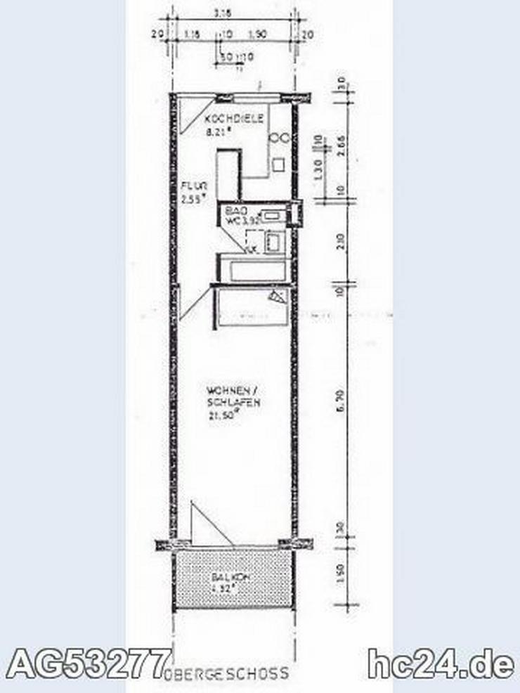 Bild 5: *** Möbliertes 1-Zimmer-Apartment in Neu-Ulm