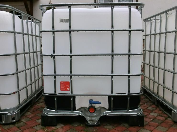 regenwassertank 1000 liter ibc wassertank ibc in erfurt bischleben stedten th ringen auf. Black Bedroom Furniture Sets. Home Design Ideas