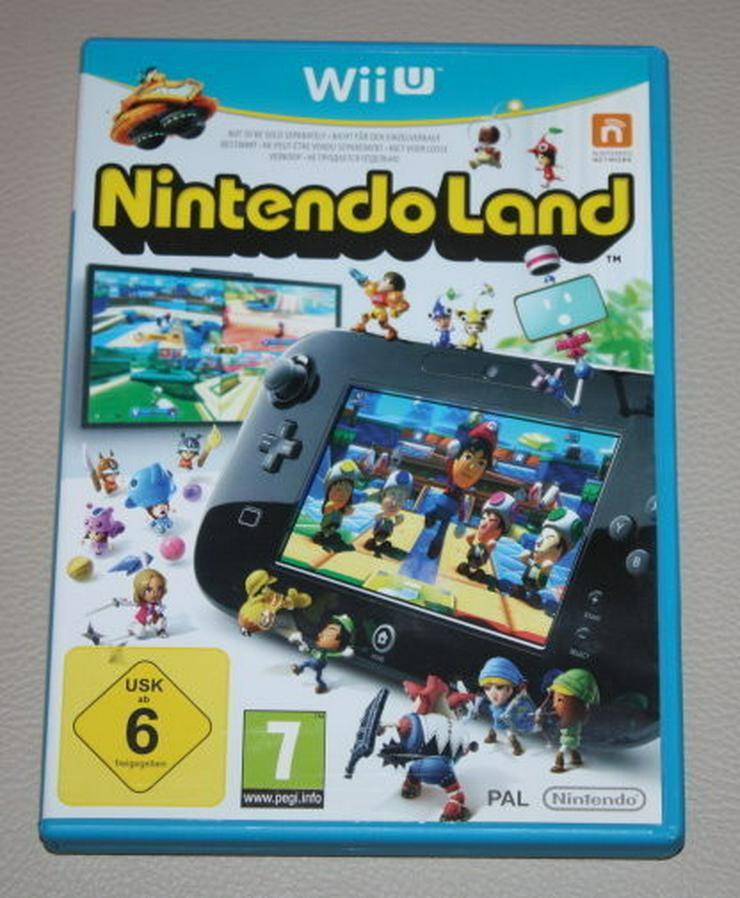 Nintendo Land Wii U Partyspiele Minispiele Game