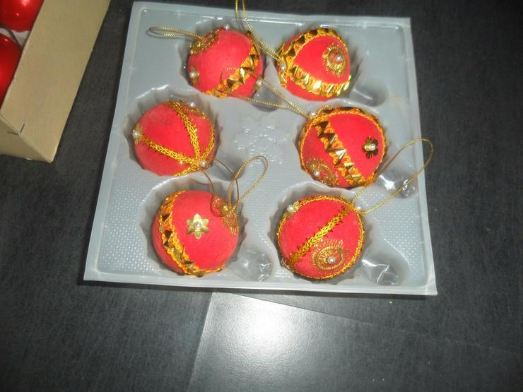 5 Pakete Weihnachtskugeln rot