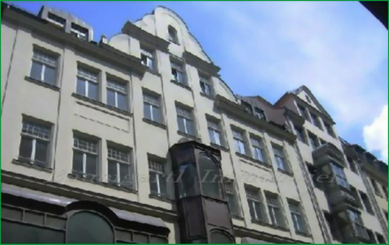 Mitten in der City von Leipzig - Gut geschnittene 2 Zimmerwohnung im 1. Dachgeschoss mit B...