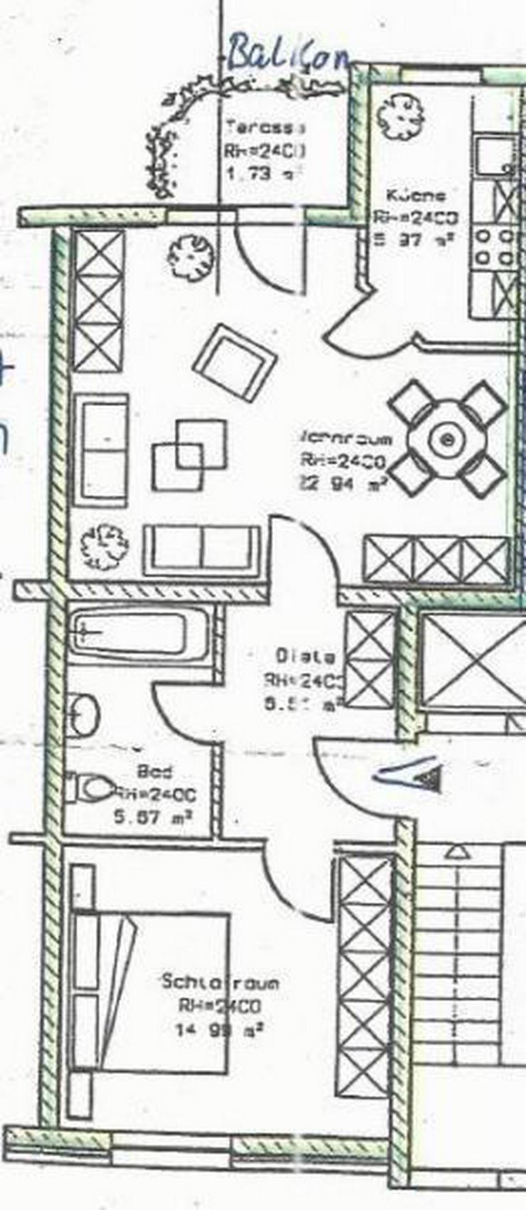 Bild 2: Nachhaltig in die Zukunft! Prov.-Freie 2-Zimmer-Whg. mit Balkon und vielem mehr!