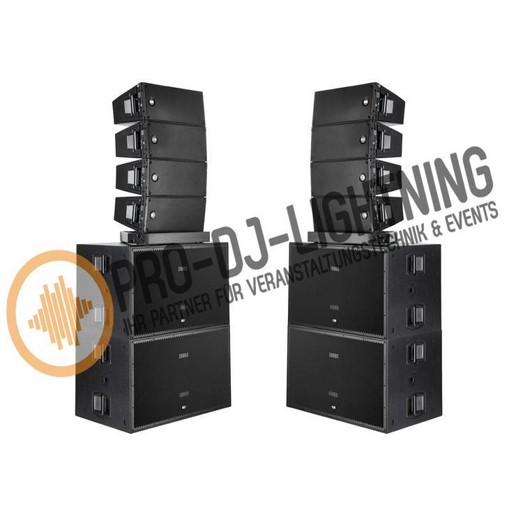 PA DJ Anlagen - Beschallungsanlagen mieten