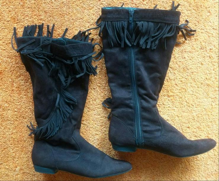 Bild 4: Damen Stiefel Gr. 38 in Braun v. Marco Tozzi