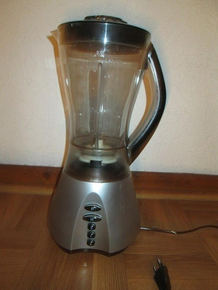 SHG Gr. Standmixer Glas/Edelstahl, 400 W 1,5l