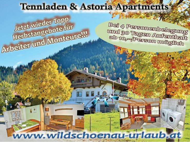 Unterkunft für Monteuere Montage Tirol Kufstein